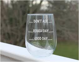 etched wine glasses g1279078356 85 oz custom etched crystal wine