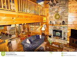 Log Home Interior Photos Inside A Log Cabin Stock Photo Image 49548451