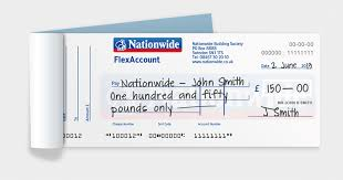 paying and receiving cheques nationwide