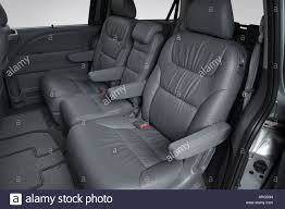 2007 honda odyssey exl 2007 honda odyssey ex l in green rear seats stock photo royalty