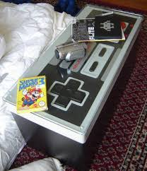 Nintendo Controller Coffee Table Giant Nes Controller As Coffee Table Storage Cnet