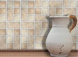 Self Adhesive Wall Tiles For Kitchens And Bathrooms Home Stick - Self adhesive tiles for backsplash