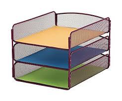safco onyx mesh desk organizer amazon com safco products 3271we onyx mesh desktop organizer with