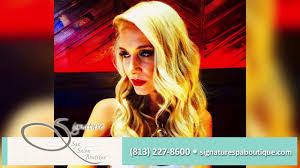 signature spa salon u0026 boutique beauty salons in tampa youtube