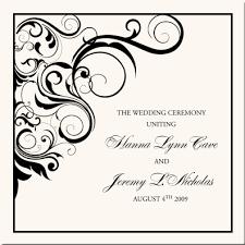 Design Wedding Programs Vintage Monogram Wedding Programs Wedding Ceremony Programs Church