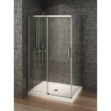 berlin glass 48 inch x 32 inch rectangular corner shower stall