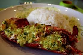 cuisiner homard surgelé homard farci à l antillaise kiyakuisine