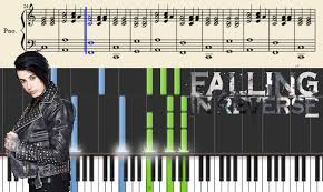 Falling In Reverse Memes - falling in reverse brother piano tutorial youtube