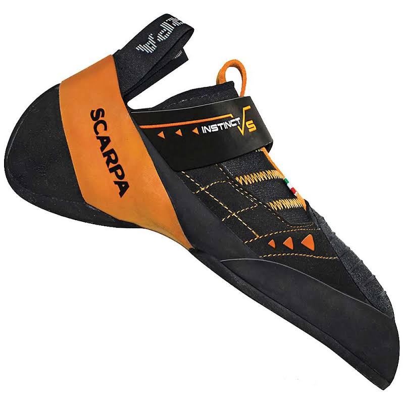Scarpa Instinct VS Climbing Shoes Black/Orange Medium 48 70013/000-BlkOrg-48