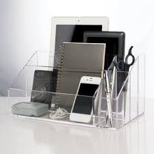 clear acrylic desk organizer clear acrylic office desk organizer buy clear acrylic office