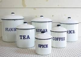 enamel kitchen canisters enamel kitchen canisters thirdbio