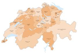 Map Of Switzerland And Germany by Atlas Of Switzerland Wikimedia Commons