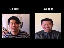 asian male side comb hair cutting asian men hair perfect comb over asian transformation