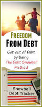 Get Out Of Debt Budget Spreadsheet Getting Out Of Debt By Using The Debt Snowball System