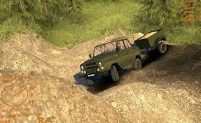 uaz 469 uaz 469 with trailer newest spintires mods spintires lt