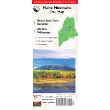 Appalachian Mountains On Map Books U0026 Maps Amc Store Appalachian Mountain Club