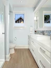 nice bathroom ideas with innovative modern curl mirror and shellie