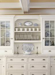 Gorgeous Blue Willow Dishes In Kitchen Traditional With Wall Plate - Wall cabinet kitchen