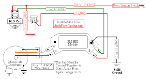 chevy small block distributor wiring wiring diagrams