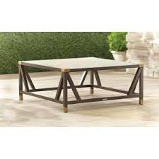 bombay outdoor furniture bombay outdoors madras bronze patio coffee table a100047 the