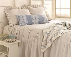 Chambray Duvet Pine Cone Hill Savannah Linen Chambray Dove Grey Bedspread Pine