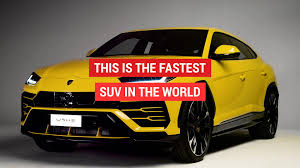 fastest lamborghini new lamborghini urus is the fastest suv ever aol uk cars