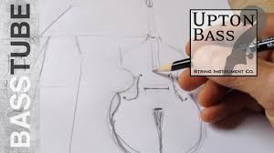 how to design a double bass a quick sketch youtube