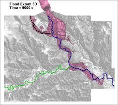 d models help scientists gauge flood impact