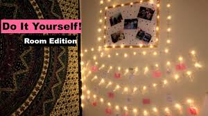Diy Christmas Lights by Diy Christmas Lights Room Decor Youtube