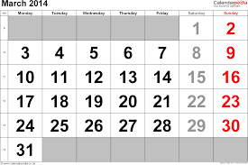 calendar march 2014 uk bank holidays excel pdf word templates
