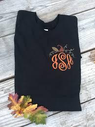 Halloween Baby Shirts by Fall Monogram Tee Halloween Pumpkin Patch Thanksgiving Shirt