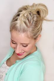 10 party up do s for medium length hair braided pompadour hair