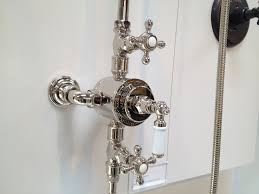 kallista exposed thermostatic shower for our bathroom in polished