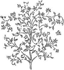 flower vines coloring wild printable free coloring pages