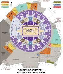 tcu parking map tcu ticket office seating charts