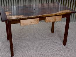 Black Walnut Table Top by Bookmatched Black Walnut Table Custom Furniture Portland Or