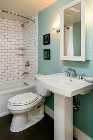 Light Blue Bathroom Paint by Bathroom Decoration Using White Subway Tile Bathroom Wall Panels