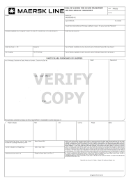blank bill of lading template t chart in word notebook paper