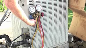 how to install and bleed the air conditioner gauge set youtube