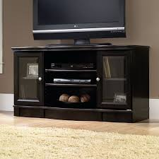 55 Inch Tv Stand Furniture U0026 Rug Black Glass Tv Stand With Bracket Menards Tv