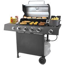 Backyard Grills Reviews by Backyard Grill 4 Burner Gas Grill With Side Burner Walmart Com
