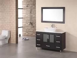 contemporary vessel sink vanity 48 stanton single vessel sink vanity espresso bathgems com