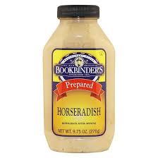 what is prepared horseradish bookbinder s prepared horseradish 9 75oz target
