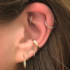 piercing rings images 90 helix piercing ideas for your trendiest self jpg