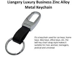classic key rings images Liangery luxury business zinc alloy metal keychain key ring classic g jpg