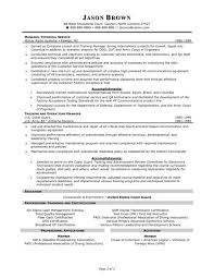 Technical Program Manager Resume Customer Service Manager Resume Sample Recentresumes Com