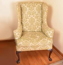 Hickory Chair Wing Chair Hickory Chair Queen Anne Wingback Chair Ebth
