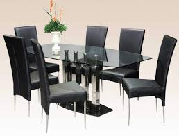 modern dining room sets for glamorous table chairs seater round