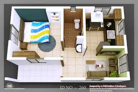 Tiny Homes D Isometric Views Of Small House Plans Indian Home - House interior designs for small houses