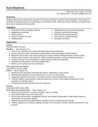 Server Duties On Resume Customer Service Duties Resume Resume Template And Professional